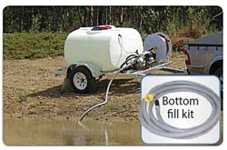Bottom fill kit