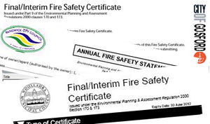 Click to contact us about Fire Certificates